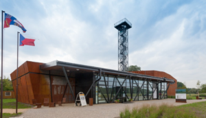 Archeopark Mikulčice – část předhradí (2014)